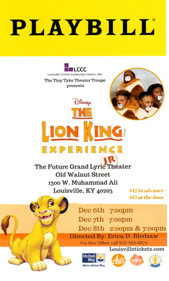 LCCC Lion King Experience Jr