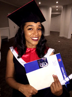 Tiera Williams - Bennett Nursing School Graduation