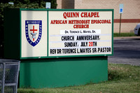 Quinn Chapel AME Church 176th Church Anniversary