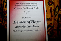 Heroes of Hope Awards Luncheon - 11/15/2016 - Catholic Enrichment Center