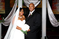 Wedding; Mr. & Mrs. Travis and Shaniqua Tandy - 10/29/2016 - St Stephen Church