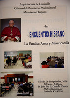 Ministerio Hispano 4th Encuentro Hispano 9/24/2016