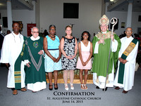 St Augustine Catholic Church - Confirmation - 6/14/2015