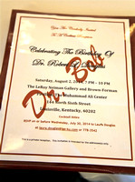 Dr Robert Douglas - 80th Birthday Celebration - 8/2/2014