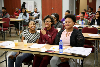 LCCC Teen Leadership Council ACT Prep event  11/18/2017