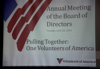 Volunteers of America Annual Meeting 2015